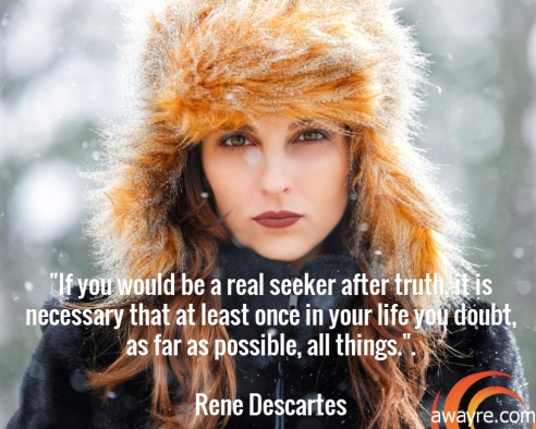 Decartes Quote Seeker of Truth